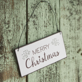 Tekstbordje | Merry Christmas | IB Laursen