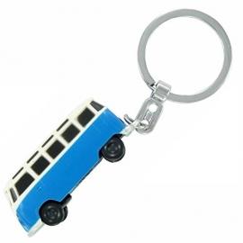 VW T1 Bus | Sleutelhanger met LED Licht | Blauw | Uitverkocht