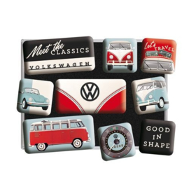 VW Magneetset | Meet the Classics