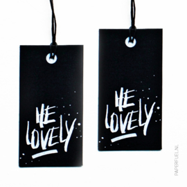 Cadeaulabels | He Lovely | Set 4