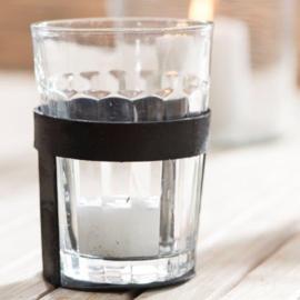 Metalen Houder & Cafe Glas | Ib Laursen