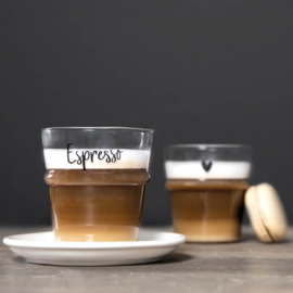Espresso Glas | Set 2 | Bastion Collections