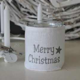 Merry Christmas Windlicht