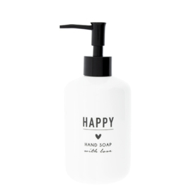 Soap Dispenser | Wit | Happy Soap | Bastion Collections
