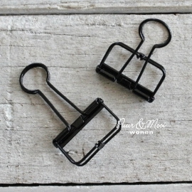 Binder Clip Medium Zwart 32mm