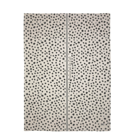 Theedoek | Dots | Naturel/Zwart | Bastion Collections