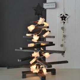Kerstboom Hout Grijs