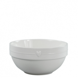 Salade Bowl | Small | Line met Hart | Bastion Collections