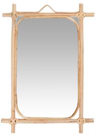 Spiegel Bamboe | Large 35,5 x 22 | IB Laursen | Uitverkocht