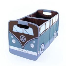 VW T1 | Opvouwbare Opbergbox | Blauw