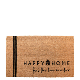 Deurmat | Happy Home | Bastion Collections