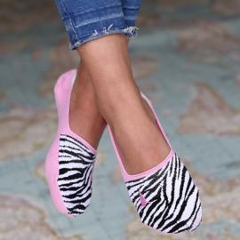 Sneakersokken | Zebra | Love Ibiza