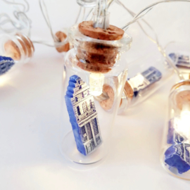 Mini Lights | Flesjes Grachtenhuisje
