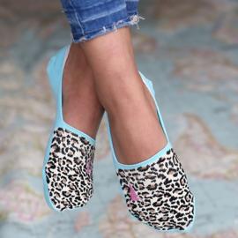 Sneakersokken | Leopard | Love Ibiza | Uitverkocht