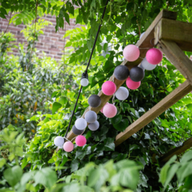 Outdoor Lichtslinger | Roze | Lubanida