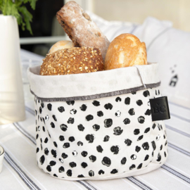 Breadbag Dots | Small | Naturel/Zwart | Bastion Collections