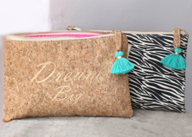 Ibiza Clutch/Make-up/Toilettasje | Dream Big | Love Ibiza