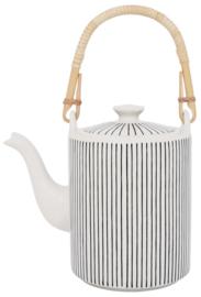 Theepot | Casablanca | Stripes |1,1 Liter | IB Laursen