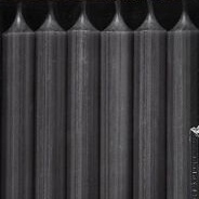 Dinerkaars   Dark Grey   19,5 cm   Branded by