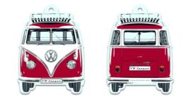 VW T1 Rood | Luchtverfrisser | Vanilla