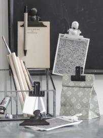 Papierklem Magneet | Zwart/Grijs | Ib Laursen