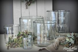 Windlicht Dik Handgeblazen Glas | S 12,7 x 12 | IB Laursen