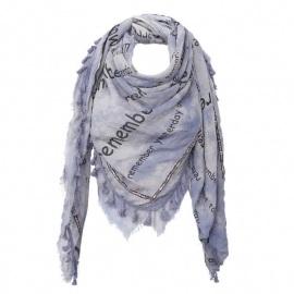 Shawl Remember Blauw