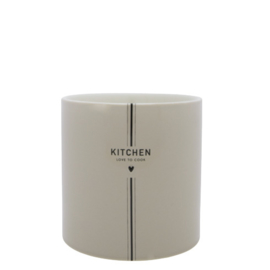 Keukengerei Pot | Kitchen |  Titane/Zwart | Bastion Collections