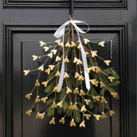 Mistletoe Gold Matt | Large 43 cm | Bastion Collections