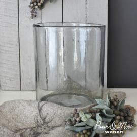 Windlicht Dik Handgeblazen Glas | L 23 x 19,5 | IB Laursen | Tijdelijk Uitverkocht