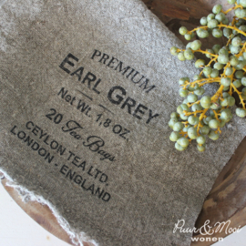 Shabby Doek | Earl Grey Tea | 30 x 45