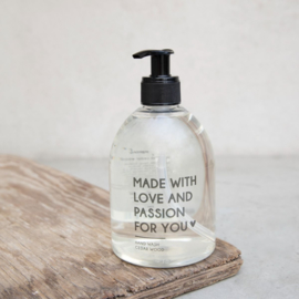 Hand Soap | Cedar Wood | Bastion Collections