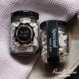 Zeep Bloemen in Potje | Wild Roses | Speciaal voor Jou
