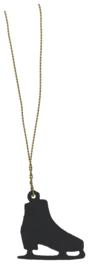 Schaats Hangertje aan goud Draadijzer | IB Laursen