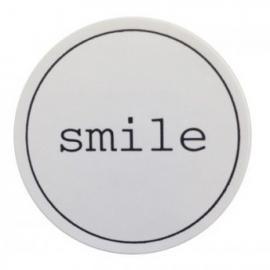 "Stickers ""Smile"" Wit set 10"