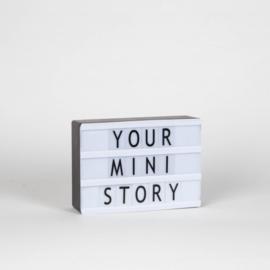 "Cijfers & Emoji""s | Set 90 | voor Mini Lightbox A6"