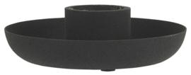 Kandelaar voor Kaars Ø:3,8 cm | Zwart | IB Laursen