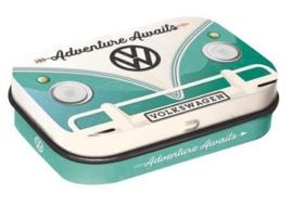 VW | Mini Mint Blikje 3D | Bulli Adventure Awaits