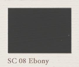 SC 08 Ebony | Eggshell Zijdemat Krijtlak | 750 ml