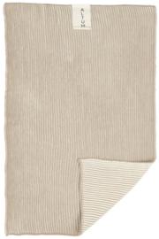 Handdoek | ALTUM | 40 x 60 Gebreid | Naturel | IB Laursen