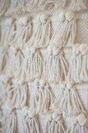 Bohemian Wandkleed Veel Franjes | Ib Laursen | Uitverkocht