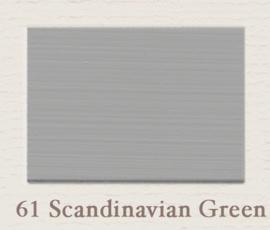 61 Scandinavian Green | Eggshell | Zijdemat Krijtlak | 750 ml
