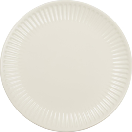 Dinner Plate | Butter Cream | IB Laursen