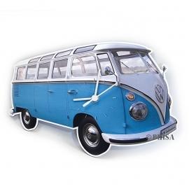 VW Classic | Wandklok | Blauw