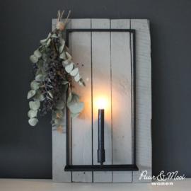 Wandkandelaar | Sophie | Handgesmeden | Uitverkocht
