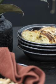 Soep & Pasta Bord   Antique Black Dunes   IB Laursen