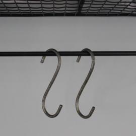 S-Haak | Metaal | 7,5 cm | Ib Laursen