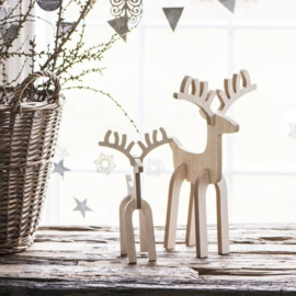 Rendier Rudolph | Small | Hout | IB Laursen