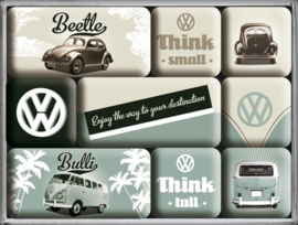 VW Magneetset | Think Tall & Small