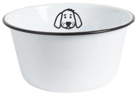 Voerbak Emaille | Hond | Large | IB Laursen